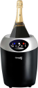 Climadiff Echanson - Weinkühler für 1 Flasche - Schwarz