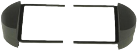 RTA - DIN 2 Radioblende - Für Alfa Romeo - Silber