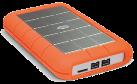 LaCie Rugged Triple - Externe Festplatte - Kapazität 2 TB - orange
