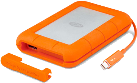 LaCie Rugged Thunderbolt - Solid State Drive (SSD) - 1 TB - orange