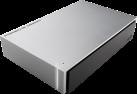 LaCie Porsche Design P'9233 - Festplatte - Kapazität 8 TB - Silber