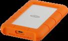 LaCie Rugged USB-C - Externe Festplatte - 2 TB - orange