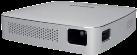PHILIPS PicoPix PPX5110 - Proiettore mobile - 100 lumen - Argento