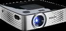 PHILIPS PicoPix PPX3417W - Projecteur de poche - 170 lumens - Noir