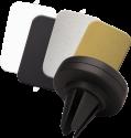 ERARD 6156 - Magnetischer Halter - Für Smartphones oder GPS - Schwarz