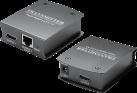 ERARD 7984 - HDMI Überträger - Über RJ45 + By-pass - Schwarz