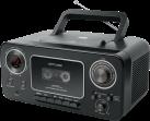 muse M-182 RDC - Radio Stereo - CD Cassette recorder - Nero