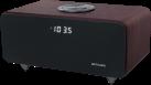 muse M-620 DWT - Altoparlante Bluetooth - Con radio - Marrone