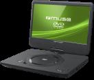 muse M-1070 DP - Lettore DVD portatile - 10  - Nero