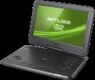 muse M-1270 DP - Tragbarer DVD Player - 12  - Schwarz