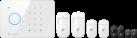 eTIGER S3b Sim Secual Starter Set - Système d'alarme - Transmetteur GSM - Blanc