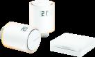 netatmo NVP01-EN - Kit de démarrage vannes connectées pour radiateurs - WLAN 802.11 b/g/n - Blanc