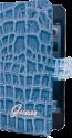 GUESS IPH5 Croco, blau
