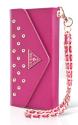 GUESSIPH5 Studded Clutsch, pink