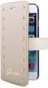 GUESS Booktype Case, 4,7, beige