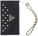 GUESS Studded Clutch, 5.5, nero