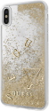 GUESS GLITTER COLLECTION - Pour Apple Iphone X - Or
