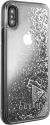 GUESS GLITTER COLLECTION - Pour Apple Iphone X - Argent