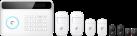 eTIGER S4 Combo Secual - Système d'alarme - Module GSM / ligne fixe - Blanc