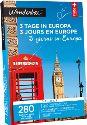 Wonderbox 3 Tage in Europa Deluxe