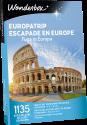 Wonderbox Escapade en Europe
