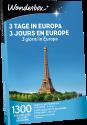 Wonderbox 3 jours en Europe