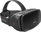 hama V2 - Virtual-Reality-Brille - Wireless - Schwarz
