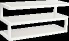 NorStone Esse AV White - Meuble TV - Blanc