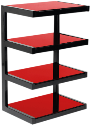 NorStone Esse Hifi Red - HiFi Möbel - Rot
