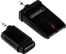 LUMENE Wireless Trigger 12 V - Zubehör für motorisierte Leinwände - Reichweite 10m - Schwarz