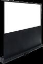 LUMENE Eden 180C - Motorisierte Boden-Leinwand - 16:9 177 x 100 cm - Schwarz