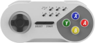 SUBSONIC - SNES Controller - Kabellos - Grau