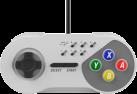 SUBSONIC - SNES Controller - 3 m - Grau