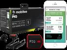 PIQ GOLF SET – Multisport Sensor und Zubehör - LED-Display - Schwarz/Rot