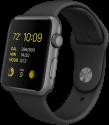Apple Watch 38mm Modern Buckle, L, schwarz