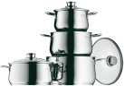 WMF Batterie de cuisine, 4 pièces Diadem Plus