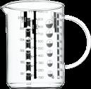 WMF Messbecher - 1 l - Transparent