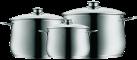 WMF Batterie de cuisine, 3 pièces Diadem Plus