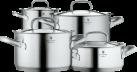 WMF Topfset Gourmet Plus - für Induktionsherde - 4 tlg. - Silber