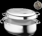 WMF Roaster extra con coperchio di metallo