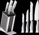 WMF Grand Gourmet bloc à couteaux - 5 pièces - Acier inoxydable