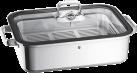 WMF Vitalis - Aroma Dampfgarer mit Silikondichtung - 6,5 l - Silber