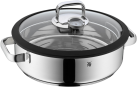 WMF Vitalis - Dampfgarer mit Glasdeckel - Ø 28 cm - Silber
