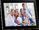 """Braun Photo DigiFrame 1281 - Digitale Bilderrahmen - 12.1"""" TFT LCD Display - Schwarz"""