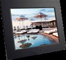 Braun Photo DigiFrame 1080 - Cadres photo numériques - ÉcranTFT LCD de 9,7 po - Noir