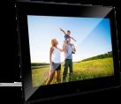 "Braun Photo DigiFrame 1220 - Cadre photo numériq - Écran 12.1"" TFT LCD - Noir"
