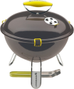 LANDMANN Piccolino - Barbecue de Table - Ø 34 cm - Noir