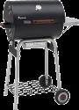 LANDMANN Black Taurus 440 - Barbecue a carbonella - Termometro del coperchio - Nero/Argento