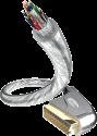 in-akustik Premium Scart - Cavo Scart - 2 m - Transparent