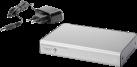 in-akustik Premium 4K HDMI Splitter - 1 HDMI Eingang / 2 HDMI Ausgänge - Silber
